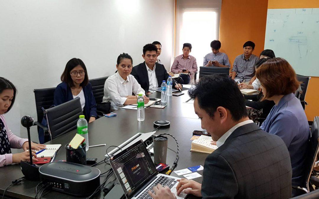 สสว ร่วมหารือ สมาคมฯผู้ประกอบการอีคอมเมิร์ซไทย ในโครงการส่งเสริมพัฒนาตลาดอิเล็กทรอนิกส์ สำหรับ เอสเอ็มอี
