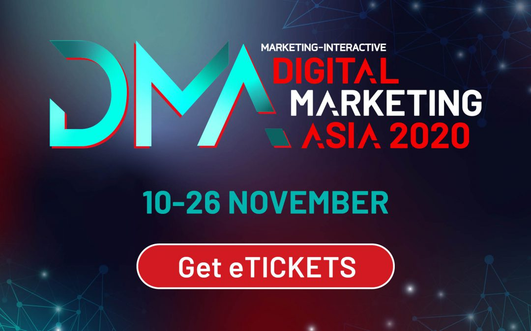 APAC'S TOP MARTECH FESTIVAL BY MARKETING-INTERACTIVE RETURNS FROM 10-26 NOVEMBER 2020