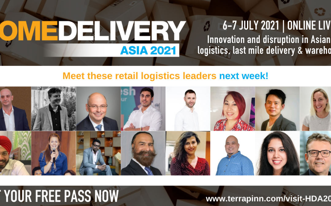 Home Delivery Asia 2021 on 6-7 July 2021